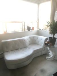Beautiful MCM sofa and T-Rex coffee table
