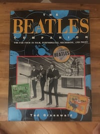 "Brand New ""Used"" The BEATLES Companion Hard Copy Book Aurora, L4G 3K4"