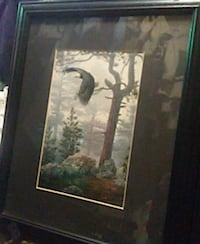 Eagle art framed  Surrey, V3R 1W7