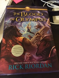 The Blood of Olympus Chantilly, 20151