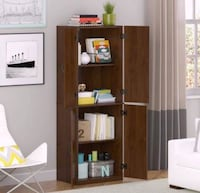 Storage Cabinet medium oak (Hot summer Sale) Houston, 77092