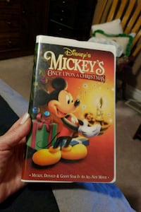 Mickey's Once Upon A Christmas.VHS Vaughan