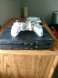 black Sony PS3 slim console with controller and game cases Odessa, 79763
