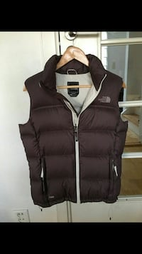 brun quilted full-zip The North Face vest
