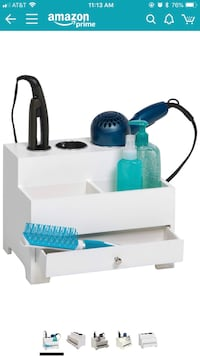 White hair dryer organizer Fairfax, 22033