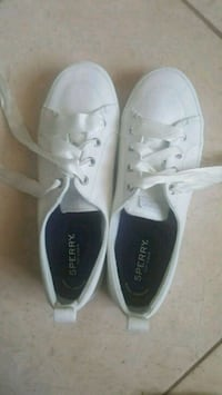 SPERRY TOP SIDER WOMENS RIBBON LACE CANVAS SNEAKER Miami Beach