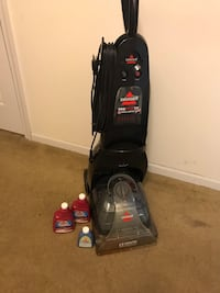 black Bissell upright vacuum cleaner Portsmouth, 23707