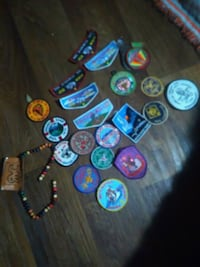 Old boy scout patches Wichita, 67203