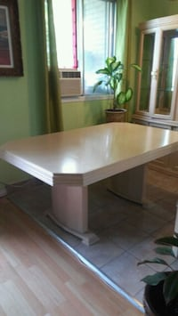 rectangular brown wooden table with chairs Laval, H7M 5W8