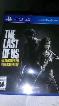 Brand new ps4 the last of us