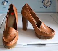 Brand new pair of women's brown oxford pumps Montreal, QC, Canada