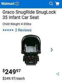 Brand new Graco baby car seat. Negotiable! Toronto, M9W 3Y2