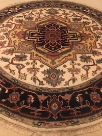 Beautiful (NEW) Handmade Indian Rug 6ft by 6ft  Germantown, 20876