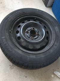 P185/65r14 all seasons tires with rims mint condition need gone asap. Brampton, L6W 1B9