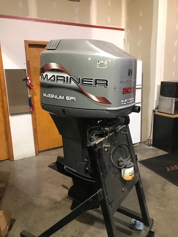 200hp Mercury Mariner outboard