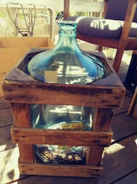 Vintage 5-gallon water bottle and box Montgomery Creek, 96065
