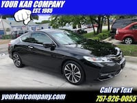Honda Accord Coupe 2017 Norfolk