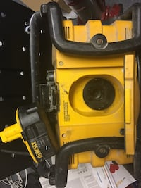 Yellow and black power tool