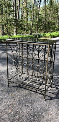 Granite/Brushed Bronze Wine Rack Ellicott City, 21042