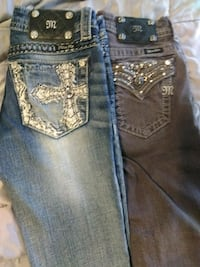 Miss me jeans size 25 boot and skinny  Phoenix, 85022