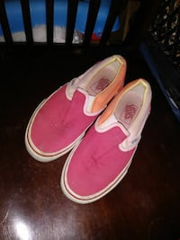 pair of pink Vans slip-on shoes Barstow, 92311