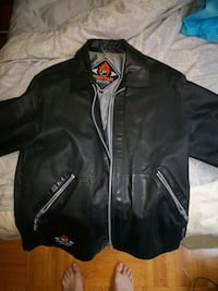Men's Leather Jacket Proteck size M Vancouver, V6G 1L2