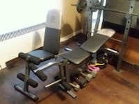 Gold Gym Work out bench and chair  Cincinnati, 45238