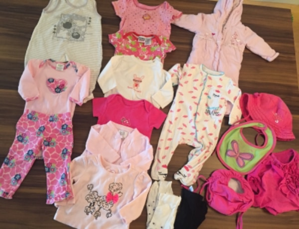 3-6 months clothes and shoes