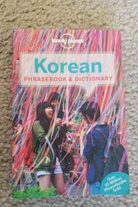 Korean phrasebook and dictionary