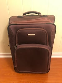 """TRAVEL LUGGAGE SUITCASE! LENGTH  24"""", WIDTH 15.5"""", DEPTH 10""""!"""