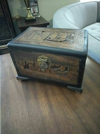 Made by hand Wooden Box.