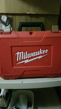 red plastic Milwaukee tool case only the case !  Surrey, V3R 0Y1