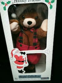 ANIMATED CHRISTMAS FIGURE WITH LGHTED CANDLE West Palm Beach, 33407