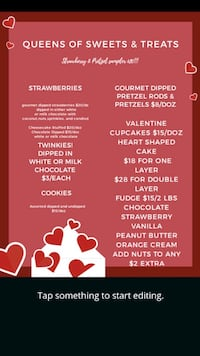 valentines is coming!!! get your orders in Lexington, 40504