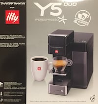 Illy espresso machine Y5 Duo Washington, 20001