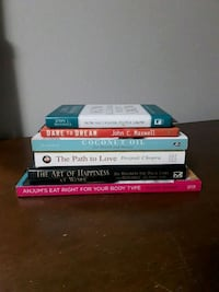 ALL 6 books for $5 Calgary, T2K 0Y2