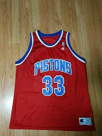 Champion Detroit Pistons jersey sz.48(XL) Maryland Heights
