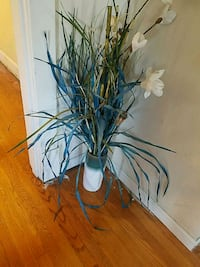 green leaf plant with white ceramic vase Suitland-Silver Hill, 20746