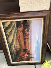 Beautiful framed picture perfect for living room or dining room Edison, 08817