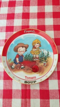 The Campbell's Kids Tomato soup 1993 Plate Hagerstown, 21740