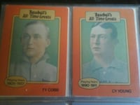 Two Baseball All time greats trading cards Greenwood, 72936