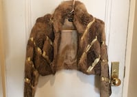 """Authentic """"Bebe"""" real fox fur, cropped jacket. Toronto, M4S 1G4"""