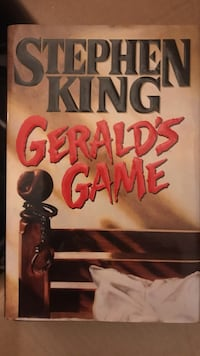 Gerald's Game by Stephen King book