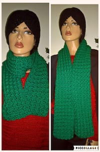 Beautiful green scarf