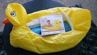 yellow and blue inflatable pool Katy, 77449