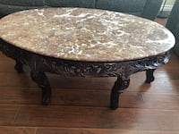 marble coffee table ....