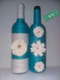 teal and white floral print textile Catonsville, 21228