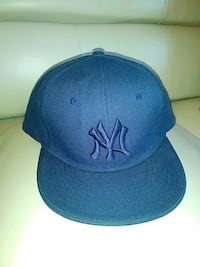 Yankees fitted cap mens size 7 1/2