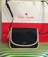 BNWT Authentic Kate spade leather crossbody  Oshawa, L1H 7W5