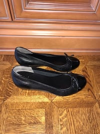 New Cole Haan Shoes Size 9.5 Black leather flats Vaughan, L4L 2N2